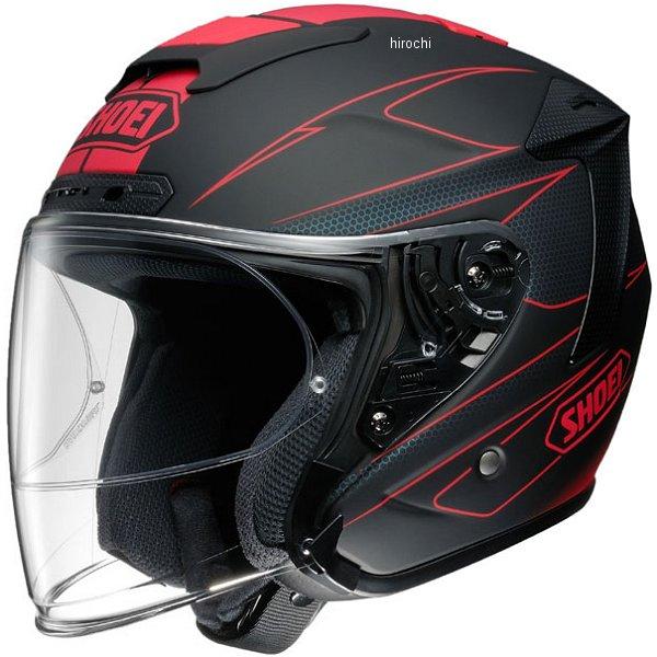 ショウエイ SHOEI ジェットヘルメット J-FORCE 4 MODERNO TC-1 赤/黒 Sサイズ 4512048453411 JP店