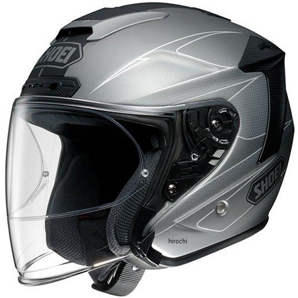 【メーカー在庫あり】 ショウエイ SHOEI ジェットヘルメット J-FORCE 4 MODERNO TC-10 グレー/黒 Lサイズ 4512048453497 JP店