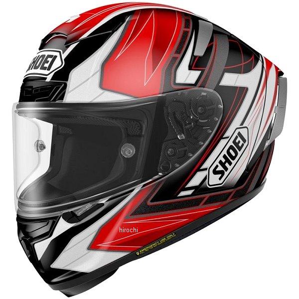 ショウエイ SHOEI フルフェイスヘルメット X-Fourteen ASSAIL TC-1 赤/黒 Sサイズ 4512048459628 JP店