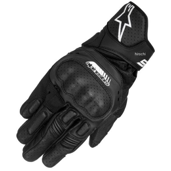 【メーカー在庫あり】 アルパインスターズ Alpinestars 春夏モデル レザーグローブ SP-5 黒 Mサイズ 8021506614968 JP店