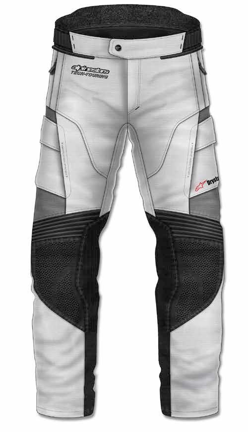【メーカー在庫あり】 アルパインスターズ Alpinestars 春夏モデル パンツ ANDES 2 DRYSTAR ライトグレー/黒/ダークグレー Sサイズ 8021506615217 JP店