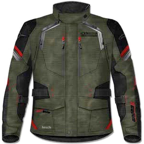 【メーカー在庫あり】 アルパインスターズ Alpinestars 春夏モデル ジャケット ANDES 2 DRYSTAR ミリタリーグリーン/黒/赤 2XLサイズ 8021506624707 JP店