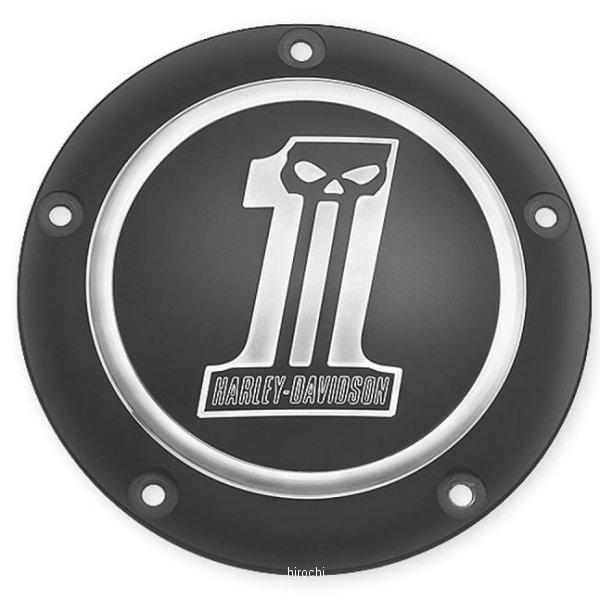 【USA在庫あり】 ハーレー純正 ダービーカバー ダーク ビレット 99年以降 Twin Cam 25562-09 JP店