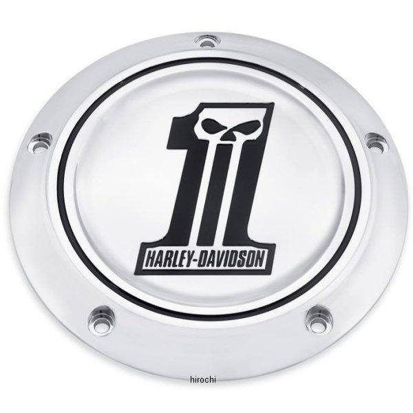 【USA在庫あり】 ハーレー純正 ダービーカバー No1 スカル 16年以降 ツーリング 25700435 JP店