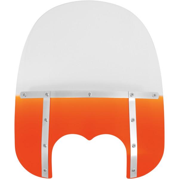 【USA在庫あり】 メンフィスシェード Memphis Shades ウインドシールド ファット 19インチ高 08年-17年 FXDF オレンジ ME0451 JP店