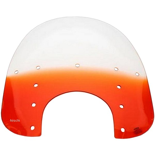 USA在庫あり メンフィスシェード Memphis Shades 全商品オープニング価格 補修用 シールド ファット ライト用カット幅 即出荷 ME0633 9インチ 21インチ高 JP店 オレンジ