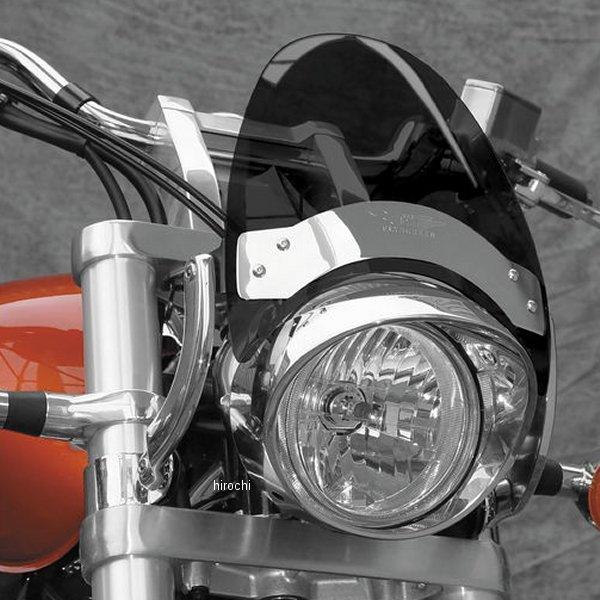 【USA在庫あり】 ナショナルサイクル National Cycle フライスクリーン 44mm-51mmフォーク 黒/ダークスモーク/カーブ 552842 JP店