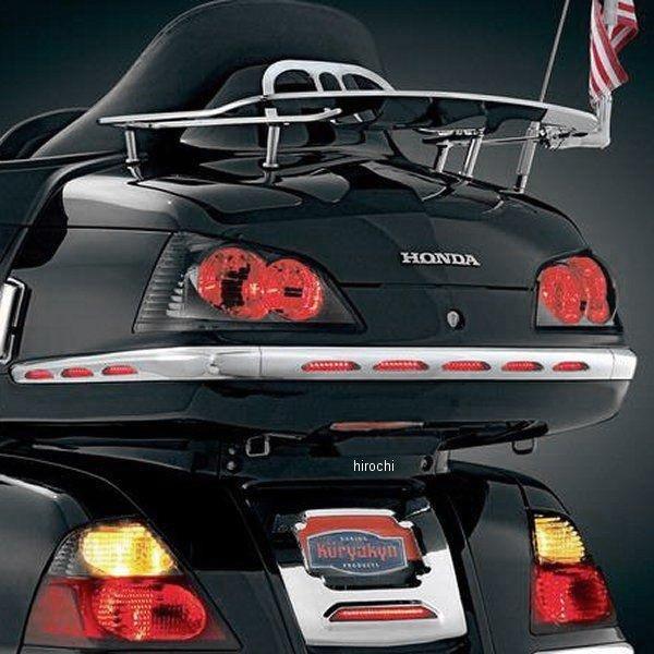 【USA在庫あり】 クリアキン Kuryakyn LED ライト トランク モールディング クロームレンズ (3枚セット) 01年-10年 GL1800 3221 JP店