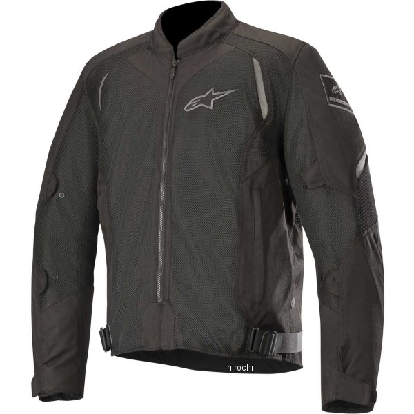 【メーカー在庫あり】 アルパインスターズ Alpinestars 春夏モデル ジャケット WAKE AIR 黒/黒 XLサイズ 8033637028910 JP店