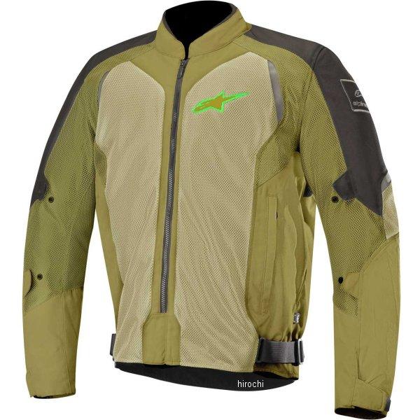 【メーカー在庫あり】 アルパインスターズ Alpinestars 春夏モデル ジャケット WAKE AIR 黒/オリーブ/蛍光グリーン Mサイズ 8033637029054 JP店