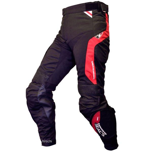 シールズ SEAL'S 春夏モデル メッシュ パンツ ブーツイン 赤/黒 LLサイズ SLP-229S JP店