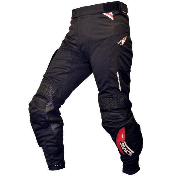 シールズ SEAL'S 春夏モデル メッシュ パンツ ブーツイン 黒 LLサイズ SLP-229S JP店