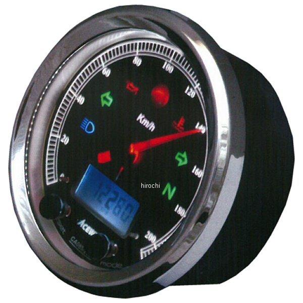 エースウェル ACEWELL 多機能デジタルメーター 260Km/H 黒パネル CA085-262-B JP店