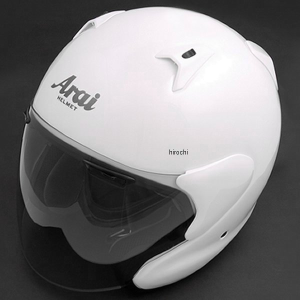 【メーカー在庫あり】 MF-GLWH-59 アライ Arai ヘルメット MZ-F グラスホワイト (59cm-60cm) 4530935328086 JP店
