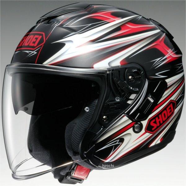 【メーカー在庫あり】 ショウエイ SHOEI ヘルメット J-CRUISE CLEAVE TC-1 赤/黒 Lサイズ 4512048440343 JP店