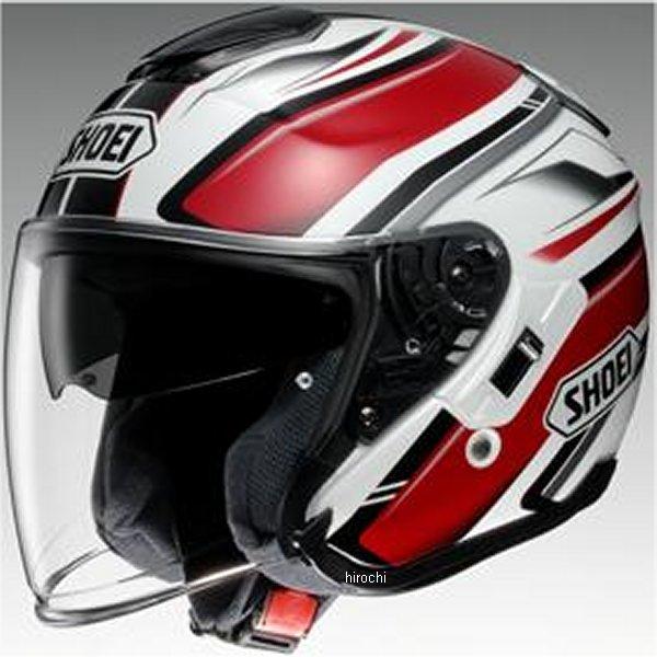 【メーカー在庫あり】 ショウエイ SHOEI ヘルメット J-CRUISE PASSE TC-1 赤/白 XLサイズ 4512048441746 JP店