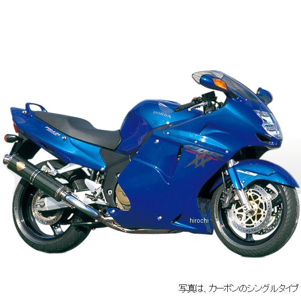 アールズギア r's gear フルエキゾースト ワイバン用 リペアサイレンサー 99年以降 CBR1100XX 真円チタン WH06-01TI-XR JP店
