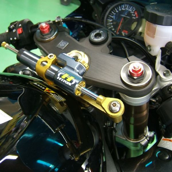 ハイパープロ HYPERPRO CNCステアリングダンパーステー 75mm/TYPE-3 05年-06年 GSX-R1000 ゴールド 22115019 JP店