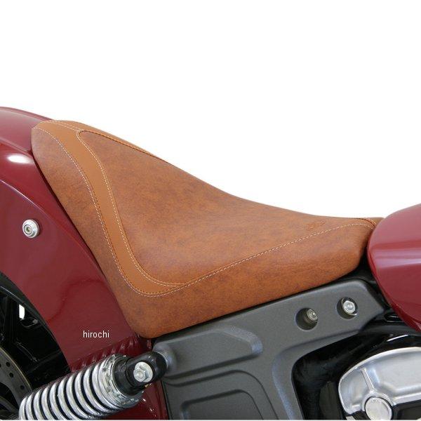 【USA在庫あり】 マスタング Mustang ソロシート RUNAROUND ブラウン 486400 JP