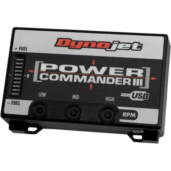 【USA在庫あり】 ダイノジェット Dynojet パワーコマンダー3 USB 03年 ニンジャ ZX-6RR PC208-411 JP店