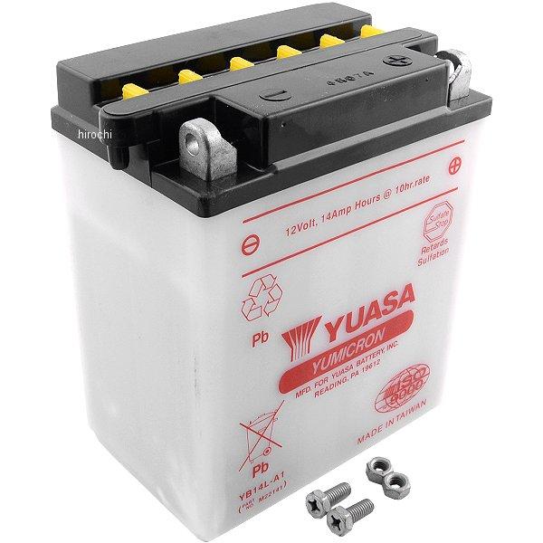 【USA在庫あり】 ユアサ YUASA バッテリー 開放型 YB14L-A1 JP店