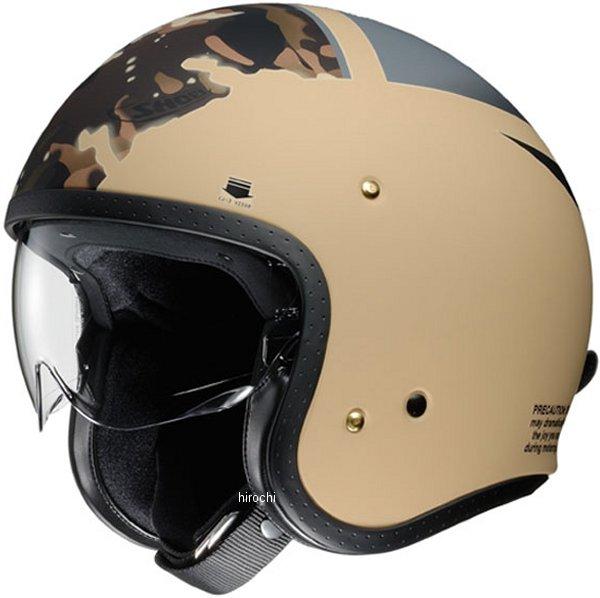 ショウエイ SHOEI ジェットヘルメット J・O SEAFIRE TC-10 カーキ/グレー Mサイズ 4512048459574 JP店