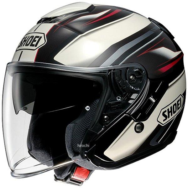 ショウエイ SHOEI ヘルメット J-CRUISE PASSE TC-10 褐/白 XXLサイズ 4512048448165 JP店