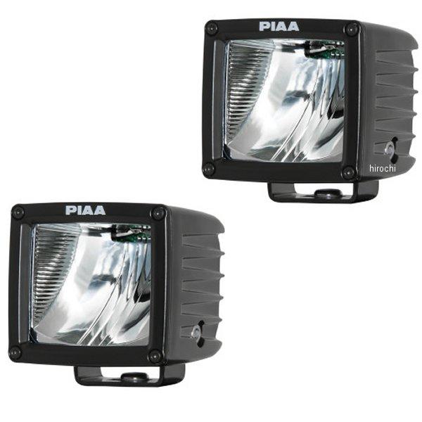 【USA在庫あり】 PIAA LEDライト 6000K 16W 3インチ 76mm ドライビング配光 (2個入り) 2001-1092 JP店