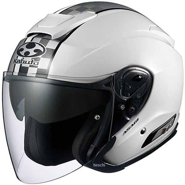 オージーケーカブト OGK KABUTO ジェットヘルメット ASAGI SPEED 白 XXLサイズ 4966094562472 JP店