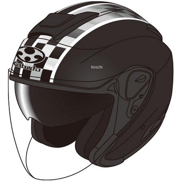 【メーカー在庫あり】 オージーケーカブト OGK KABUTO ジェットヘルメット ASAGI SPEED フラットブラック Sサイズ 4966094562496 JP店
