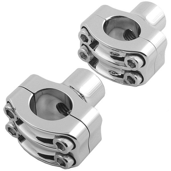 ローランドサンズデザイン RSD ライザー 1.5インチ高、1インチバー(左右ペア) ノスタルジア 4ボルト クローム 0208-2050-CH JP店