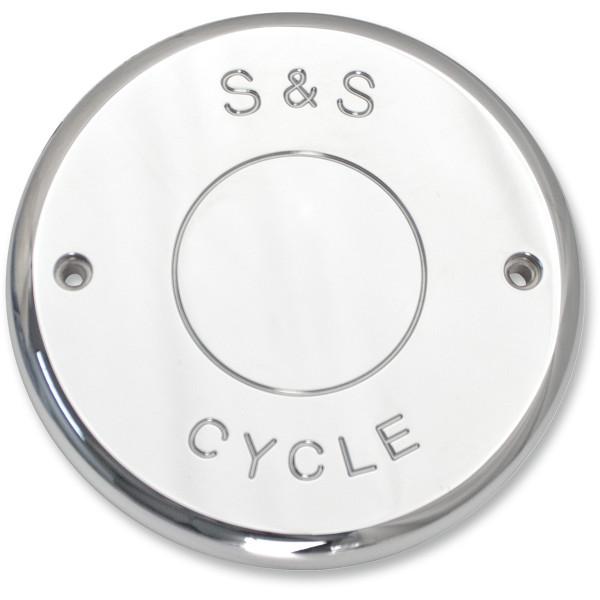 【USA在庫あり】 S&Sサイクル S&S Cycle エアクリーナー カバー 14年-18年 インディアン チーフ スクリプト クローム 1014-0219 JP店