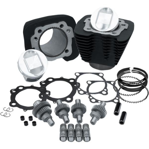 【USA在庫あり】 S&Sサイクル S&S Cycle フーリガン 1200ccから1250cc改造キット 黒 0903-1302 JP店