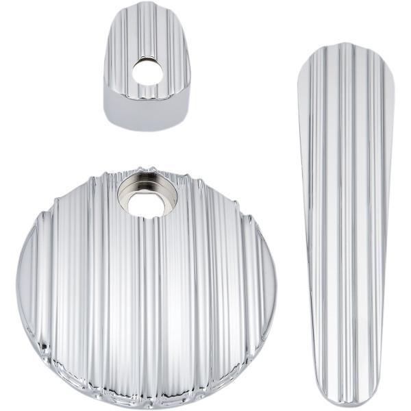 100%品質 アレンネス Arlen Ness ダッシュ アクセサリー キット 08年-13年 FLHX、FLTRX 10ゲージ クローム 2202-0271 JP店, DRESCCO(ドレスコ) 55b1e014