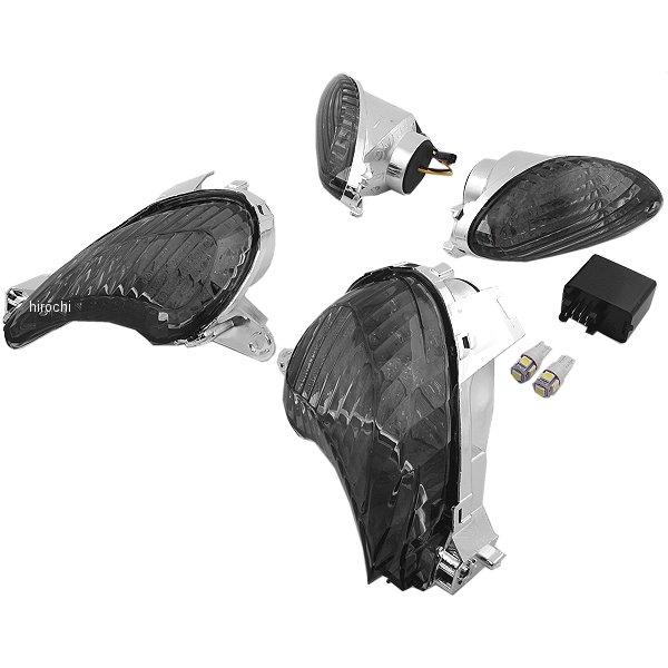 オダックス Odax LED ウインカー セット フロント リア 専用リレー付き 08年以降 GSX1300R スモーク 左右セット JSW-GSX13N-KIT JP店