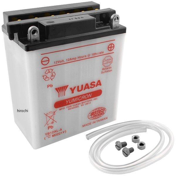 【USA在庫あり】 ユアサ YUASA バッテリー 開放型 YB12AL-A JP店