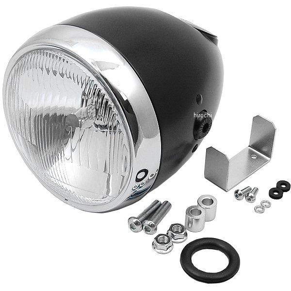 【メーカー在庫あり】 デイトナ ビンテージスモールヘッドライト(レンズ径φ134) 黒 H4 79160 JP店