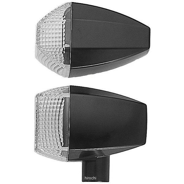 ポッシュ POSH LED ZRウインカーセット スタンダードタイプ 94年-02年 ZRX1100、ZRX400 黒/クリア 071462-06 JP店