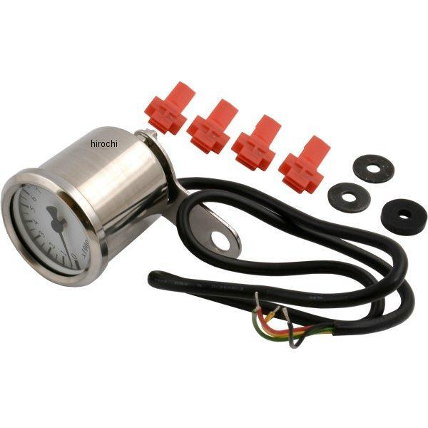 【メーカー在庫あり】 ポッシュ POSH LED バックライトミニミニタコメーター 電気式 ホンダ、ヤマハ、スズキ、カワサキ 白 000030-70 JP店