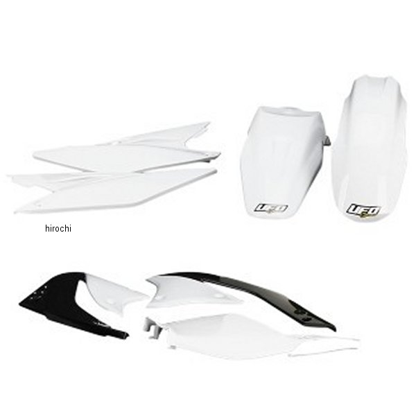 【USA在庫あり】 ユーフォープラスト UFO PLAST 外装キット 08年 KX450F 白 1403-0876 JP店