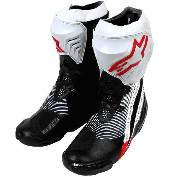 【メーカー在庫あり】 アルパインスターズ Alpinestars ブーツ Supertech-R 0015 黒/赤/白 43サイズ 27.5cm 8051194746566 JP店