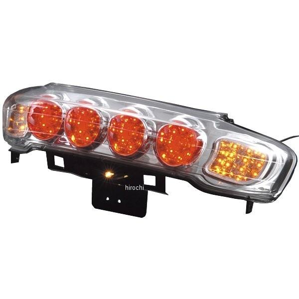ポッシュ POSH LED ユーロタイプ テールランプ 00年-06年 マジェスティ250 クローム 028490MK JP店