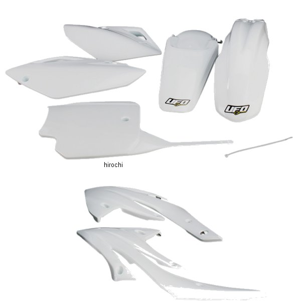 【USA在庫あり】 ユーフォープラスト UFO PLAST 外装キット 07年-11年 CRF150F 白 115740 JP店