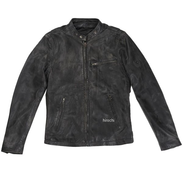 ライズ RIDEZ レザージャケット ACE 黒/ブラウン Lサイズ RLJ100A-L JP店