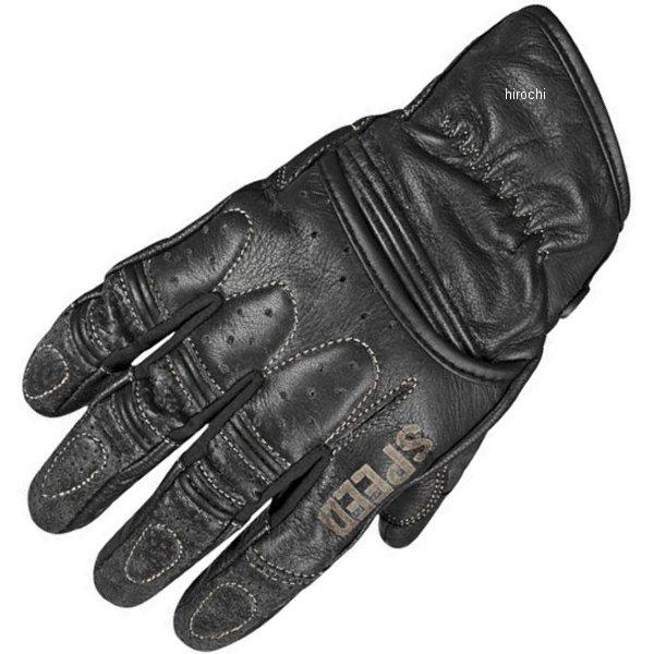 【USA在庫あり】 スピードアンドストレングス レザーグローブ Rust and Redemption 黒 Mサイズ 878617 JP店