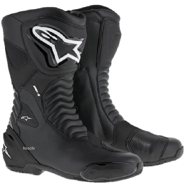 アルパインスターズ Alpinestars 春夏モデル ロードレーシングブーツ SMX-S 黒/黒 40サイズ (25.5cm) 8021506618591 JP店