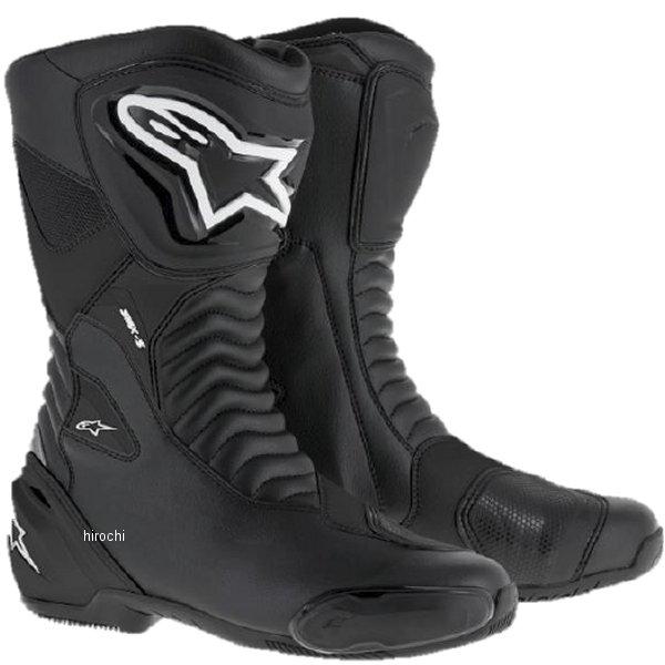 【メーカー在庫あり】 アルパインスターズ Alpinestars 春夏モデル ロードレーシングブーツ SMX-S 黒/黒 46サイズ (30cm) 8021506618652 JP店
