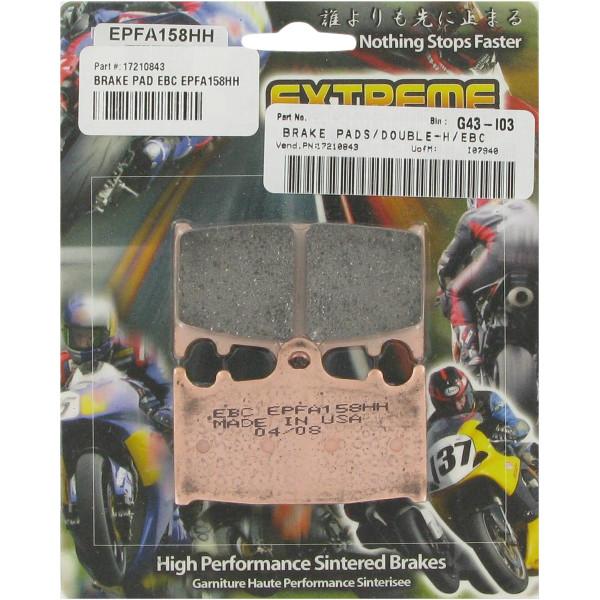 【USA在庫あり】 イービーシー EBC ブレーキパッド フロント 06年-08年 Aprilia SXV、RXV EX-Performance シンタード 610007 JP店
