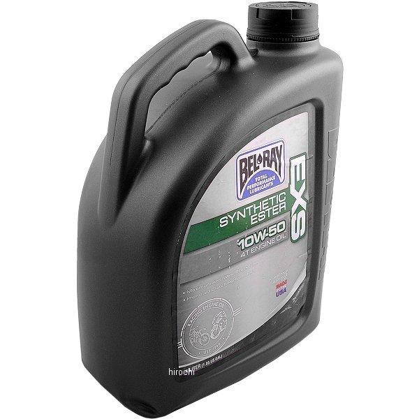 【USA在庫あり】 ベルレイ BEL-RAY 100%化学合成 4スト EXS エンジンオイル 10W50 4リットル 3601-0146 JP店