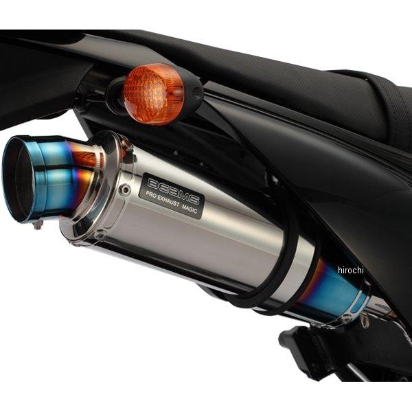 ビームス BEAMS スリップオンマフラー R-EVO 10年-15年 Dトラッカー125 チタン B412-53-007 JP店